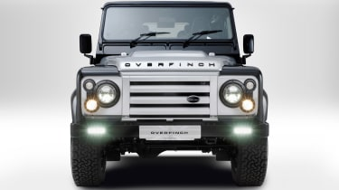 Overfinch Defender 40th Anniversary grille