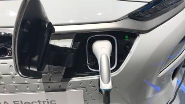 Hyundai Kona electric plug-in