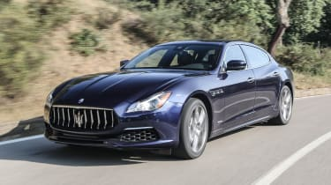 Maserati Quattroporte Diesel 2016 - front tracking 4