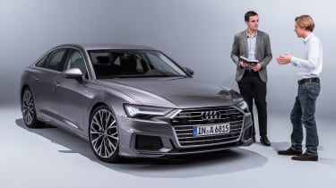 New Audi A6 - studio Lawrence Allan
