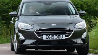 Long term review: Ford Focus Titanium X - front cornering