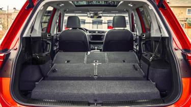 Volkswagen Tiguan Allspace - boot seats down