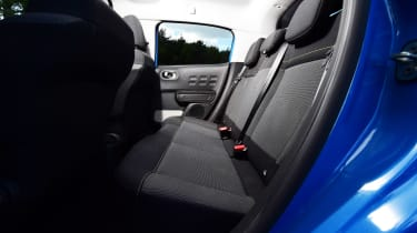 Citroen C3 - rear seats