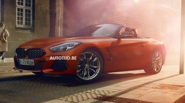 New BMW Z4 leaked