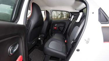 Renault Twingo - rear seats