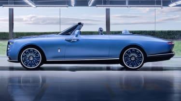Rolls-Royce Boat Tail - side