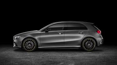 New Mercedes A-Class - studio side
