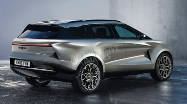 Lagonda SUV - rear (watermarked)
