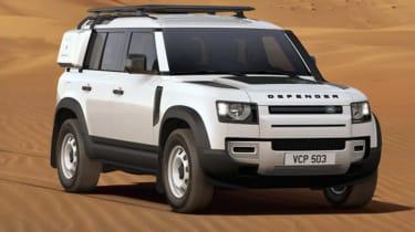 Dean Gibson Land Rover Defender