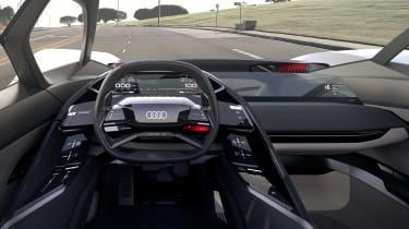 Audi PB18 e-tron concept - cabin left