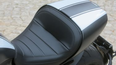 Ducati Diavel review - seat