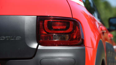 Citroen C4 Cactus review - taillight