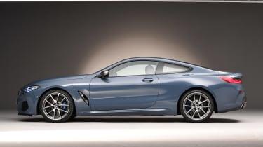 BMW 8 Series - studio side