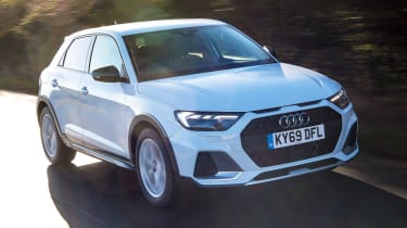 Audi A1 Citycarver - front tracking
