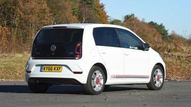 Volkswagen up! 1.0 TSI petrol - rear static