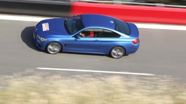 BMW 435i panning