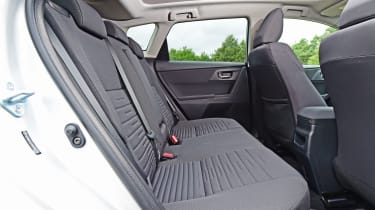 Toyota Auris - rear seats