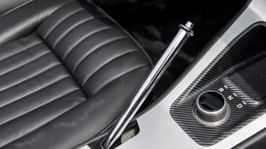 Jaguar E-Type Zero prototype - handbrake