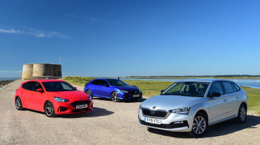 Skoda Scala vs Honda Civic vs Ford Focus - main