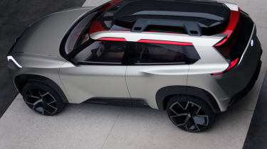 Nissan Xmotion Concept - bird's eye