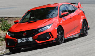 UK Honda Civic Type R 2017 - front