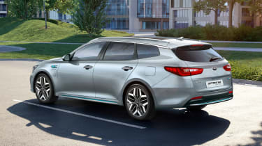 Kia Optima SW PHEV - rear