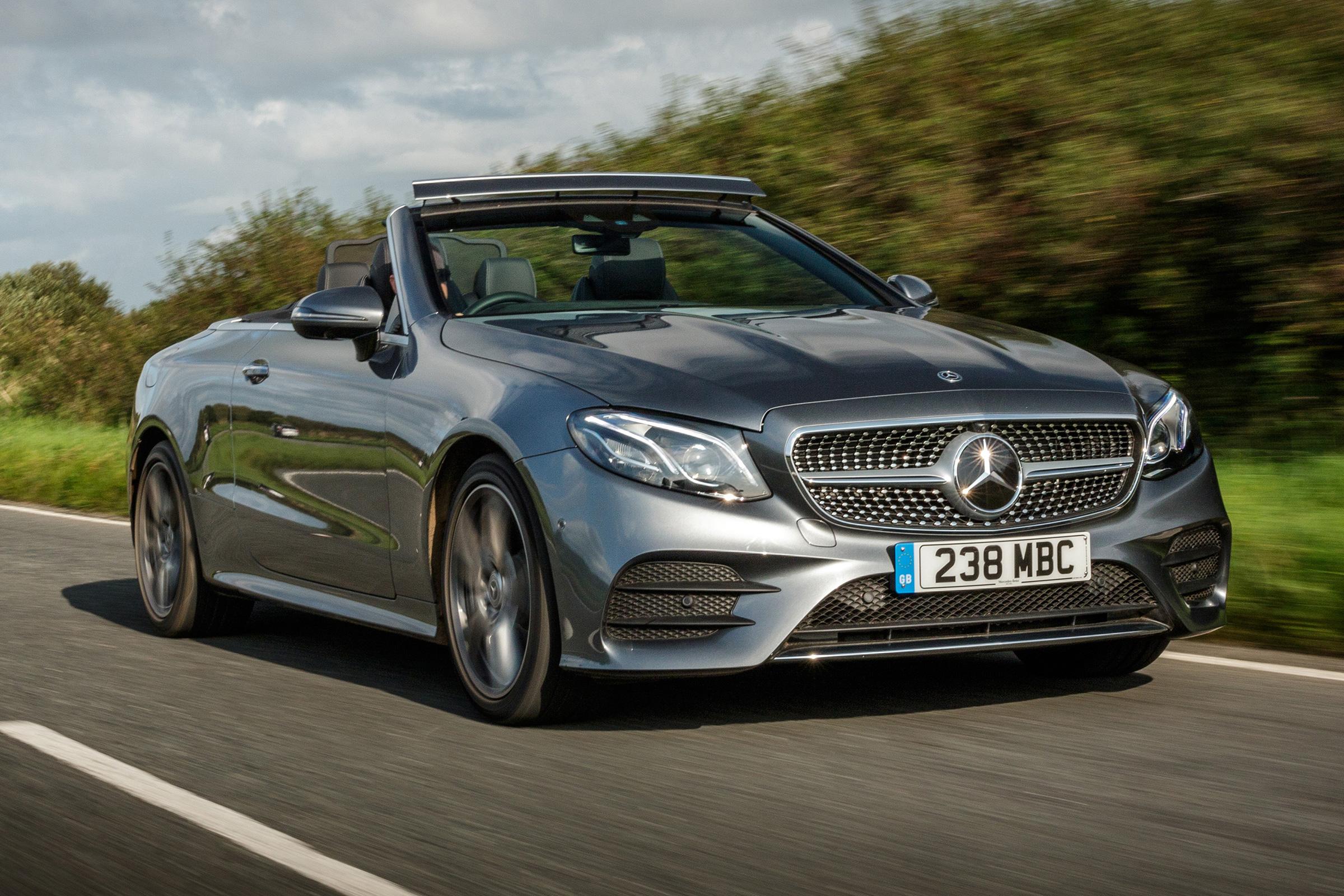 Mercedes E Class Cabriolet Review Auto Express