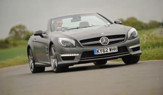 Mercedes SL65 AMG front corner