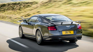 Bentley Continental Supersports 2017 - official rear tracking