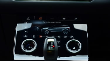 Range Rover Evoque - climate control