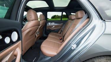 Mercedes-AMG E 63 Estate 2017 - rear seats