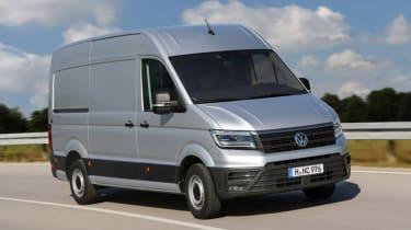 Volkswagen Crafter - tracking