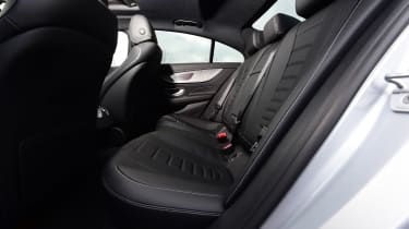 Mercedes CLS - rear seats