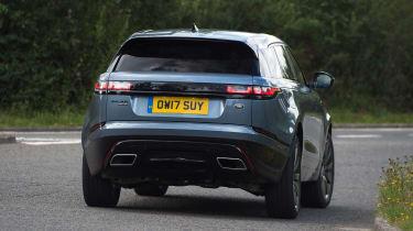 Range Rover Velar - rear cornering