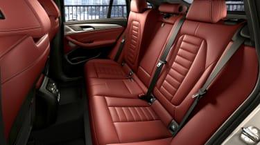 BMW X4 - rear seats