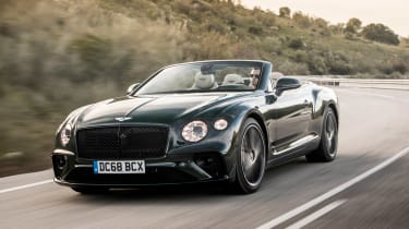 Bentley Continental GT Convertible - front tracking