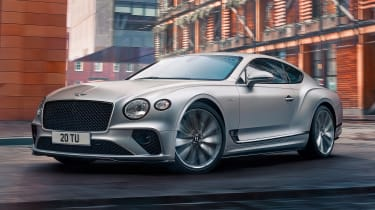 Bentley Continental GT Speed - front action