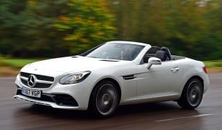 Mercedes SLC 180 - front