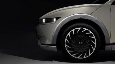 Ioniq 5 - teaser wheel