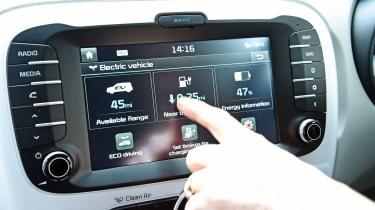 Kia Soul EV - touchscreen