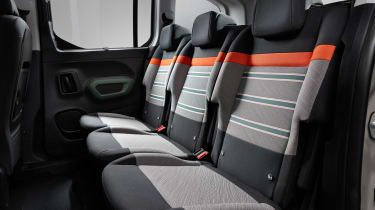 New Citroen Berlingo - back seats