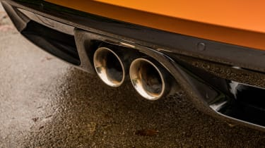 Jaguar F-Type P380 - exhaust
