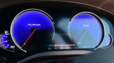 Alpina XD3 - Alpina dials