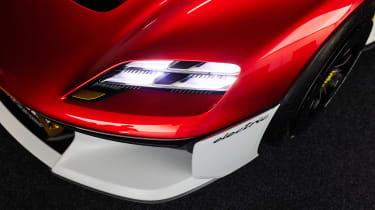 Porsche Mission R - front light