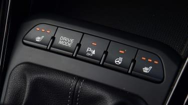 Kia Rio facelift - buttons