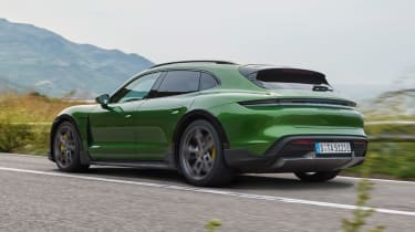 Porsche Taycan Cross Turismo - rear static
