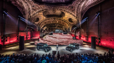 New Mercedes G-Class revealed - launch
