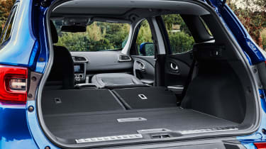 renault kadjar boot seats folded luggage space