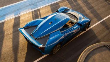 NextEV NIO EP9 electric hypercar - rear action