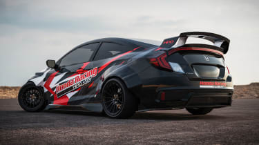 Honda Civic Si Drift Car - rear